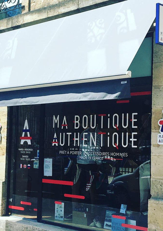 Devanture - Ma Boutique Authentique