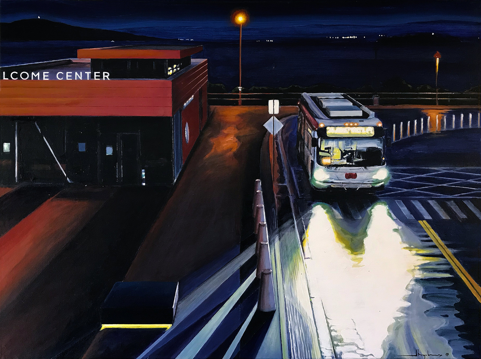 NOCTURNE #10 / Welcome Center