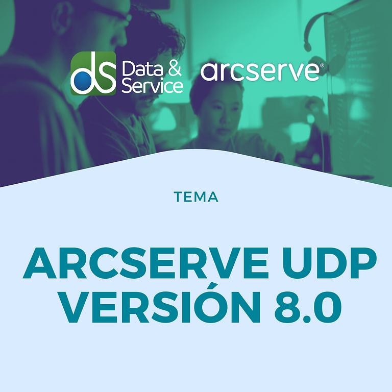 Arcserve UDP Versión 8.0