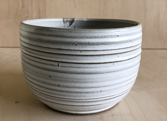Grey Matte and Celadon Ramen/Noodle Bowl