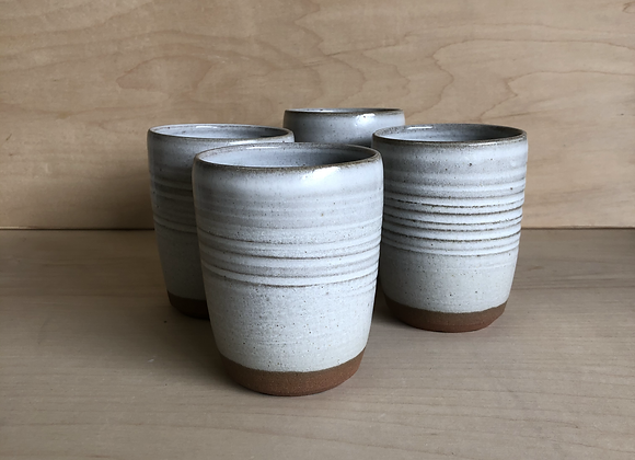 Grey on Terracotta Tumbler