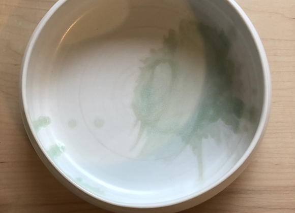 Low wide bowl