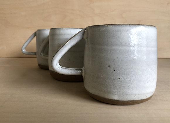 Modern Coffee Cup - Grey and Tan