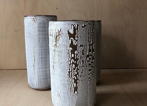 Cylinder with Lichen
