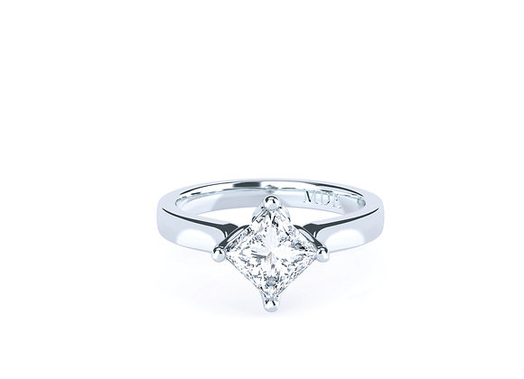 Simple and the Amazing Sparkle of the Princess Cut Diamond