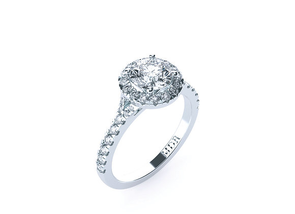 Stunning 18ct White Gold Brilliant Cut Diamond Ring says it all!