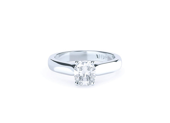 The Simplicity of a Stunning Diamond Solitaire never fails to Capture the Eye