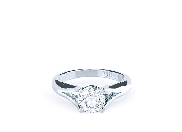 Diamond Solitaire Engagement Ring that will Win your Heart Over and Over again!