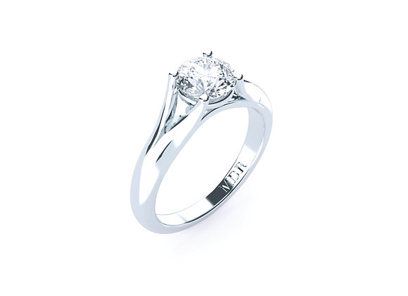 18ct Diamond Ring finished and designed to the Highest Standards