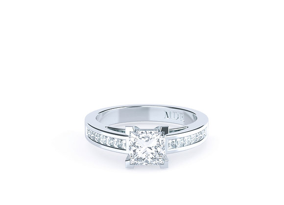Fantastic Princess Cut Diamond Ring