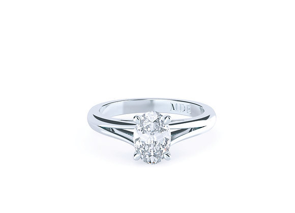 Majesty Oval Diamond Ring