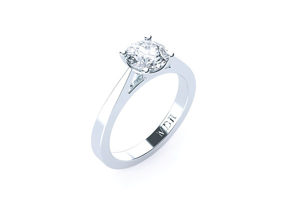 This Brilliant Round Cut Diamond Solitaire will give you years of Amazement