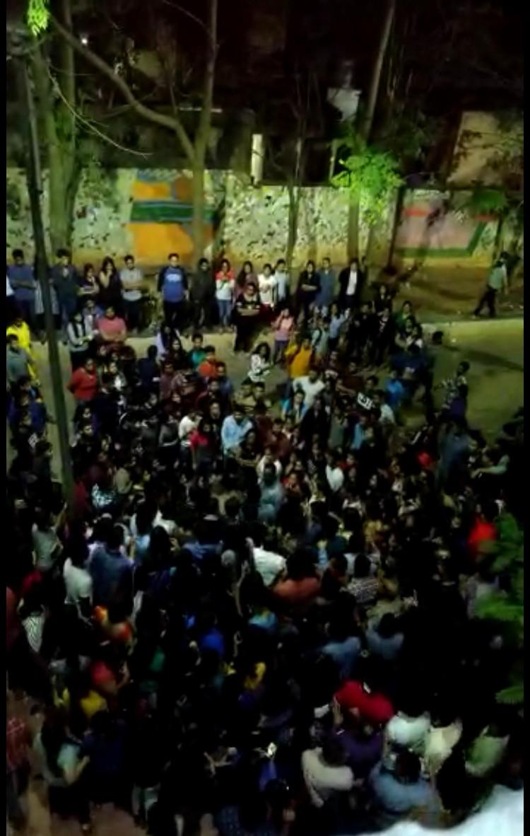 clash in KIIT between students