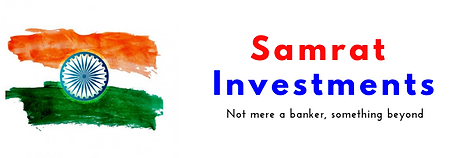 Samrat Investments email header, Not mer
