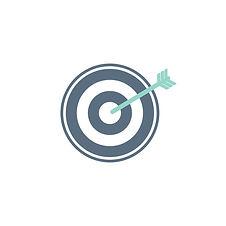 53876-5898 illustration-business-target-