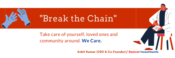 Break the Chain. Take care of yourself,