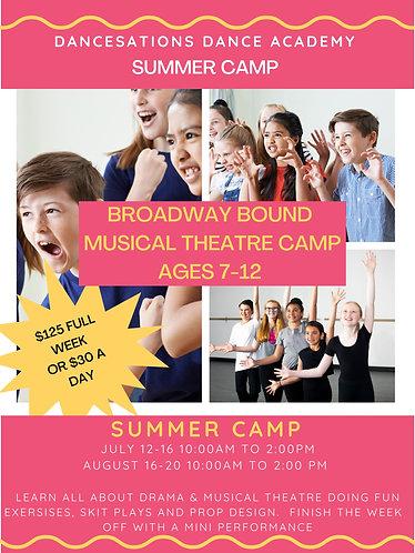Camp 2 - Broadway Bound Musical Theatre Summer Camp - Aug 16-20
