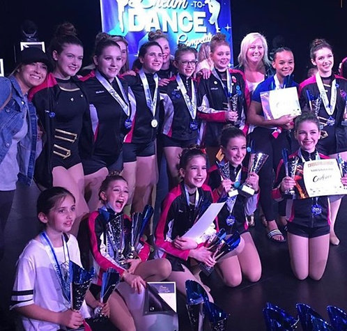 Choreography Kick Start Camp Competitive Team (ages 12+)