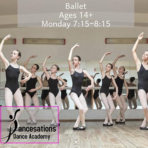 Level 5 Ballet (ages 14+)