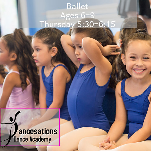 Ballet Ages 6 to 9