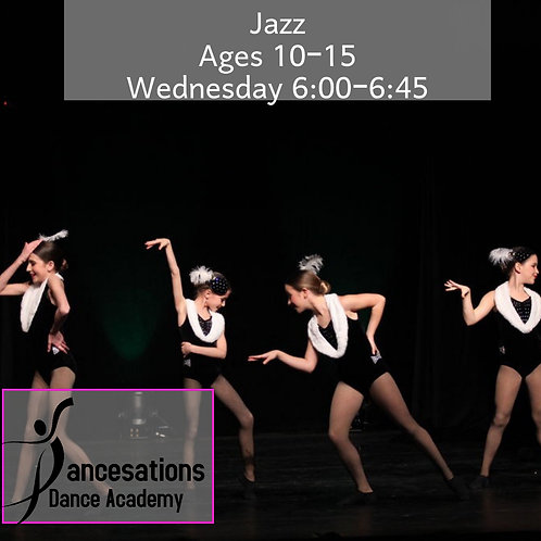 Jazz Ages 10-15