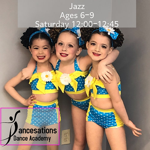 Jazz Ages 6 to 9