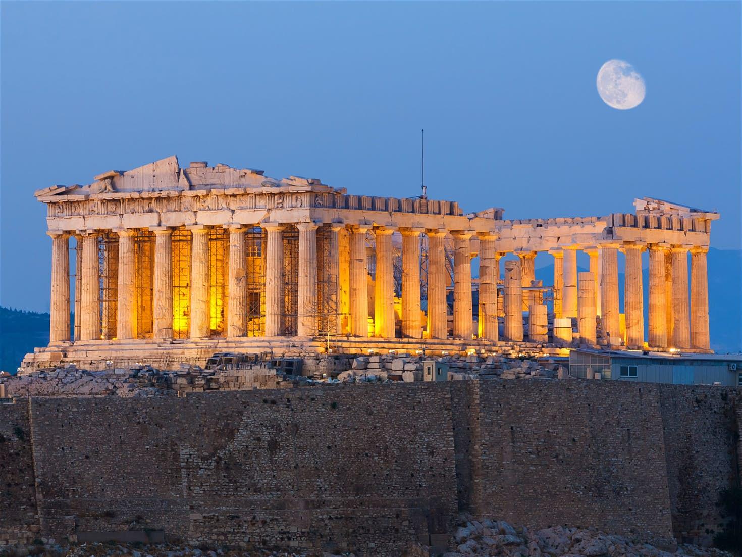 Parthenon-Acropolis-Athens-