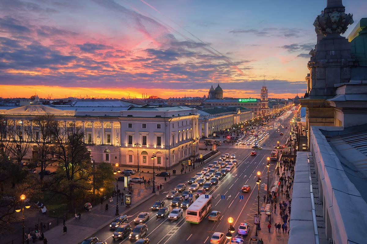 Nevsky street