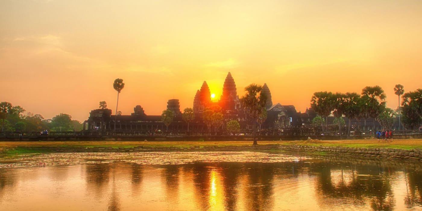 Cambodia tmeple evening