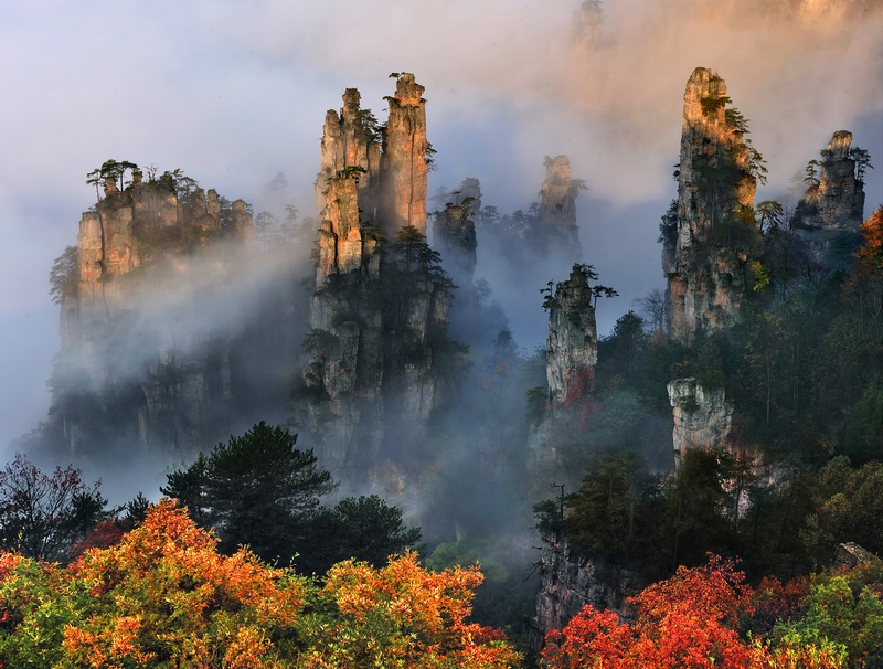 Tianzi-Mountain