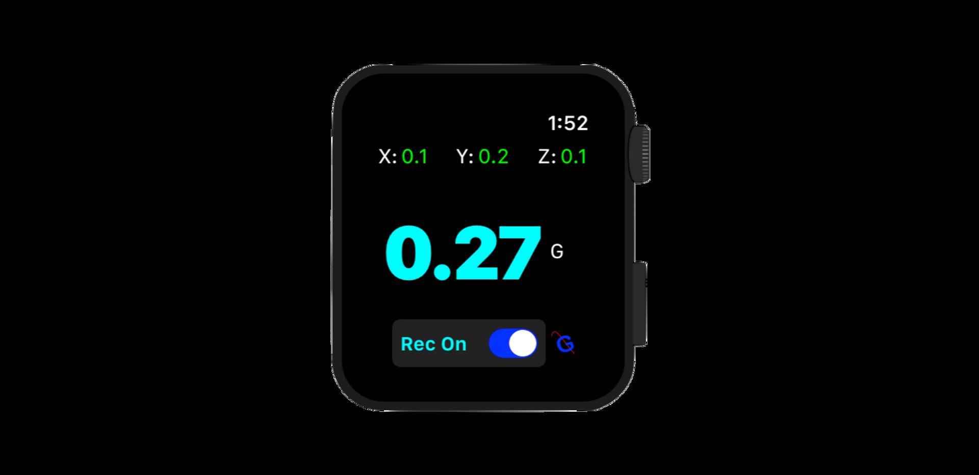Apple Watch extension of GFR Flight.