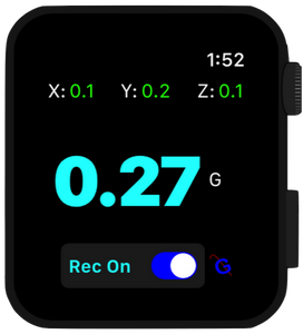 GFR Flight on Apple Watch