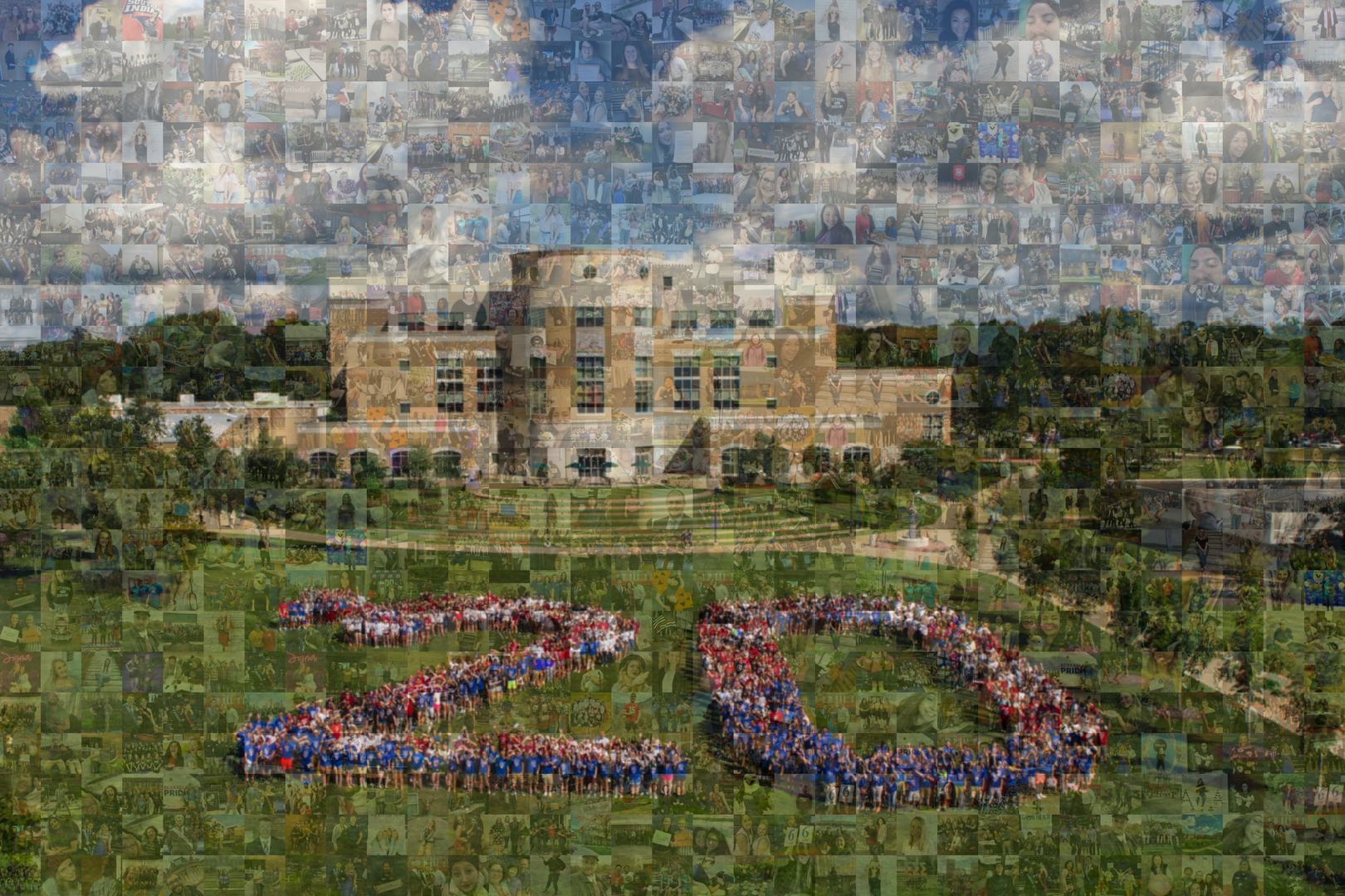 Photo Mosaic Wall Sample 2