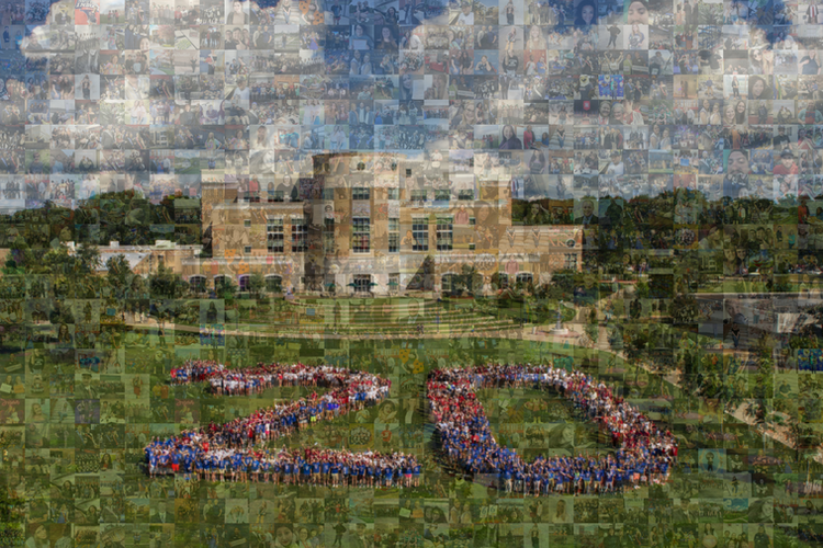 Photo Mosaic Wall Sample 2