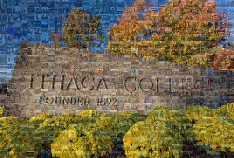 Virtual Photo Mosaic Wall