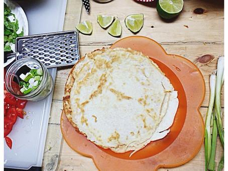 Coconut Flour Wraps