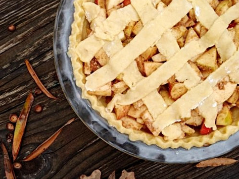 Gluten-Free Pie Crust + Apple Pie Recipe!