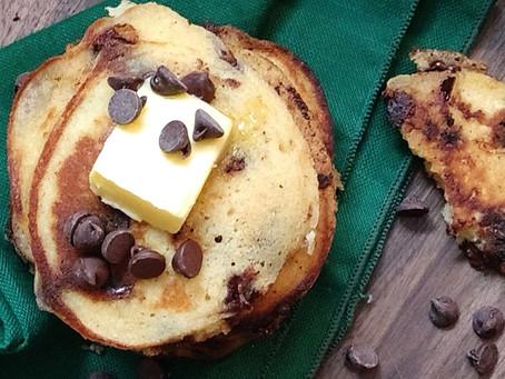 Grain-free Chocolate Chip Pancakes