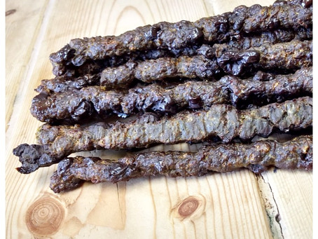 Beef Jerky Sticks - with liver!