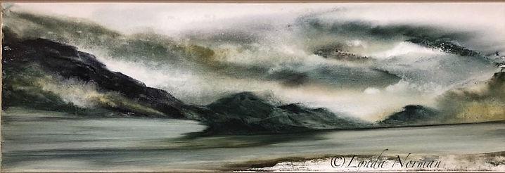 Quest Fine Watercolour on 12X 36Exhibiti