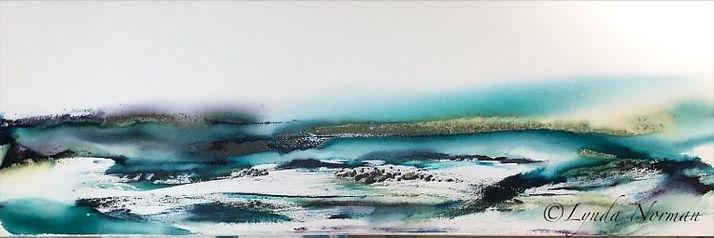 Remote 12X36 Watercolour on Exhibition D