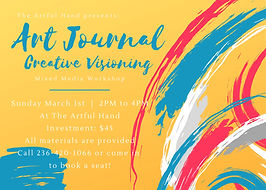 Art Journal Creative Visioning poster.jp