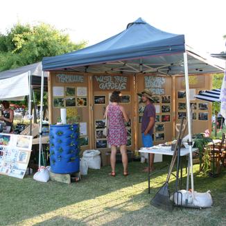 Raphael's Edible Gardens at Bonjour Perth Festival