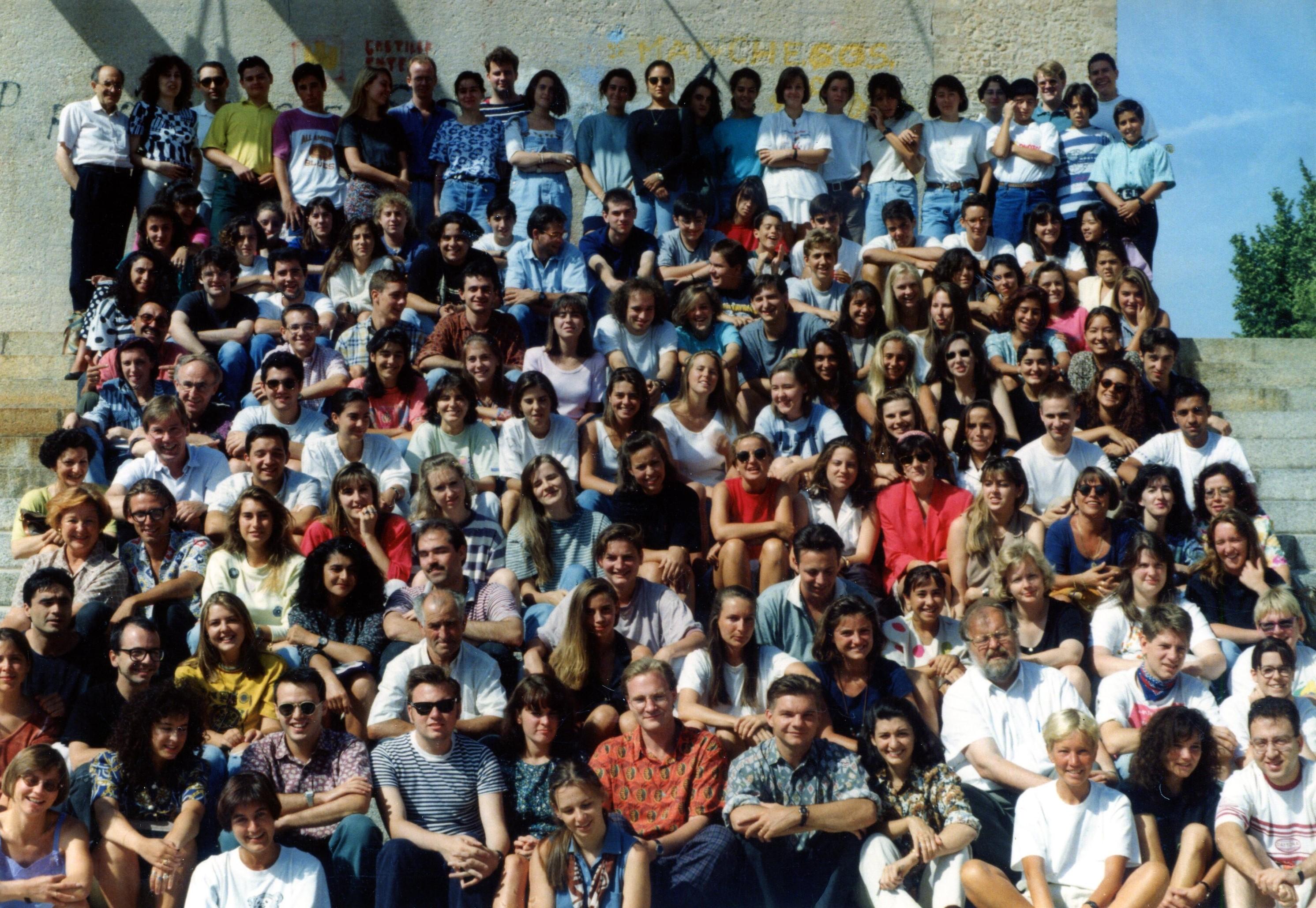Programa de españo en Cuenca. 1975