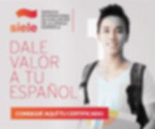 Siele, servicio de evaluación de la lengua española, examenes oficiales, academia de idiomas en cuenca