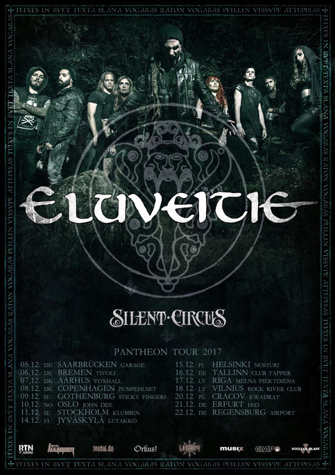 BREAKING NEWS: Silent Circus to embark on European tour with Eluveitie!