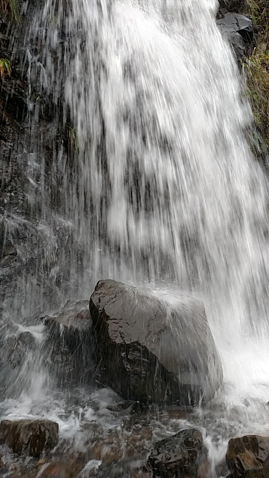 Waterfall at Ecola