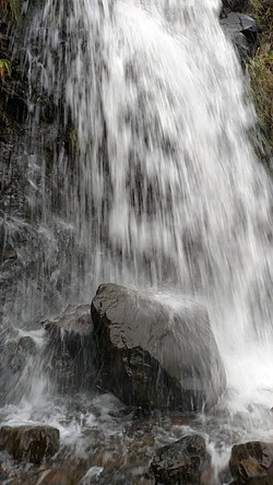 Waterfall at Ecola