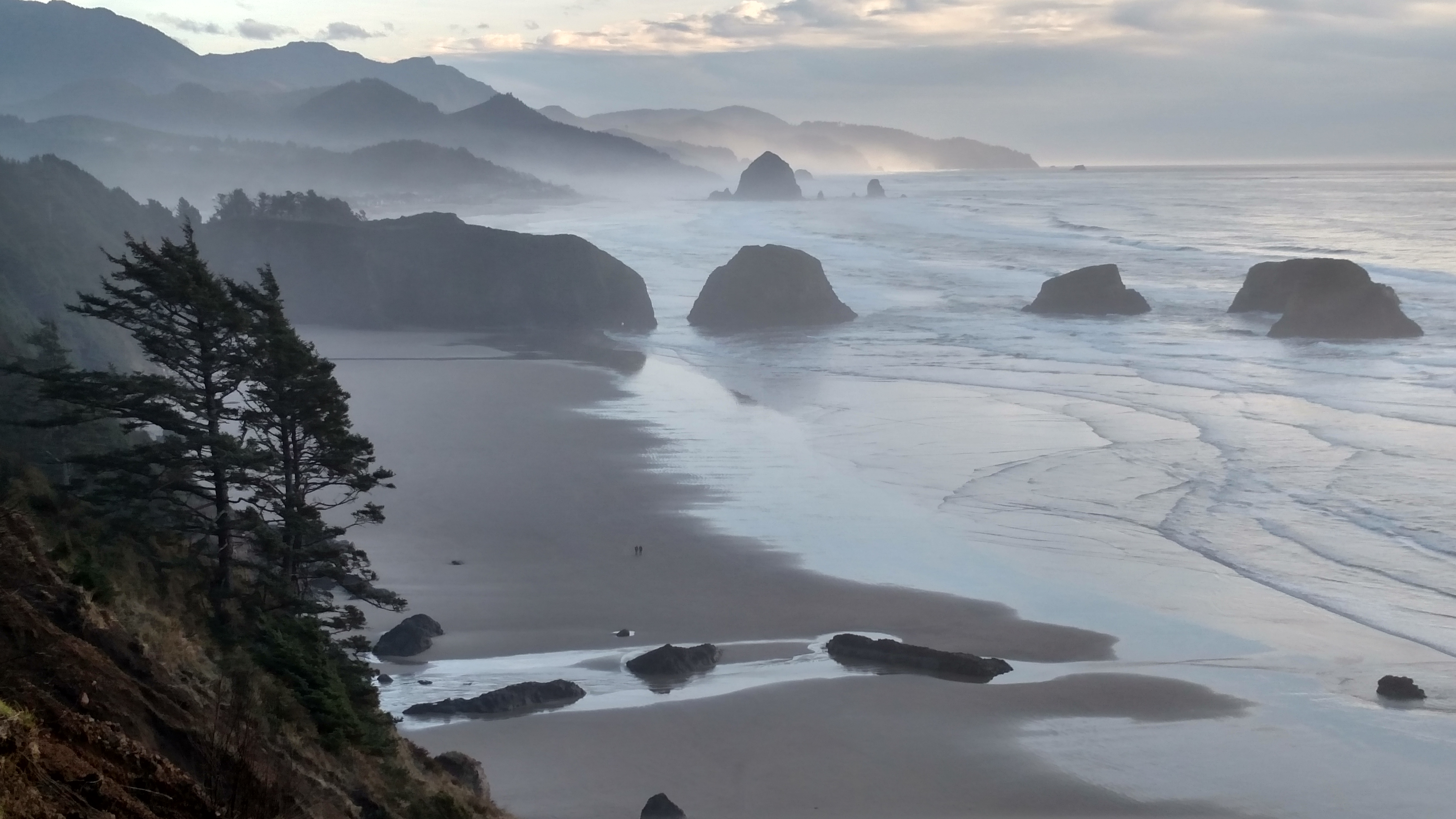 Crescent Beach and Cannon Beach