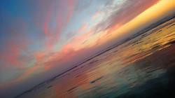 Sunset on the Slant